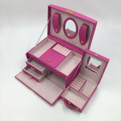 Bague de verrouillage des touches Earring Collier Bracelet Set Bijoux Boîte d'affichage
