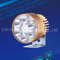 Sistema de iluminación de la luz de F-Luminus 12-80V/12W LED de color amarillo, accesorios de moto
