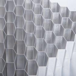 Núcleo de nido de abeja Aluminunm utilizar en materiales de construcción