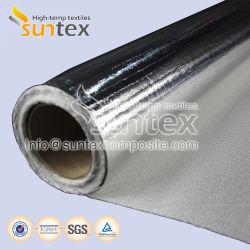 El aislamiento térmico retardante de llama a prueba de agua del conducto de aire calor de la manguera flexible de aluminio reflectante 650g de fibra de vidrio recubierto de 0,65mm