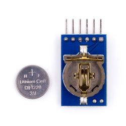 لوحة لوحة لوحة لوحة لوحة لوحة PCB لوحدة ساعة الوقت الحقيقي Ds1302 لـ Uno