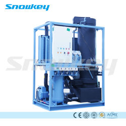 La glace de haute qualité Snowkey Making Machine Tube Machine à glace 1-70 tonnes/24hr