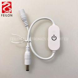 Touchez en continu de lumière à LED avec mémoire de l'interrupteur de gradation
