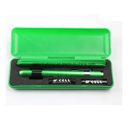 Penlight de alumínio com 5 PCS espátula (F7542A-box)