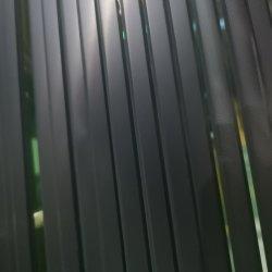 Explosionssicheres Wohnzimmer-Glastür-Schaukasten-Entwurf, Sicherheits-ausgeglichenes Glas-Blatt-Rand