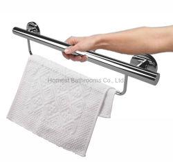 De Staaf van de Greep van de Veiligheid van de badkamers met de Staaf van de Handdoek