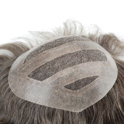 Hand Crafted Men'S Toupee Wigs. Perfect Voor Durability & Class