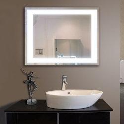 1.8Mm-8мм светодиодные системы освещения прямоугольник Edge-Lit интегрировать стены зеркало с подсветкой овальной формы