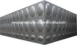 Usine chinoise de SUS 304 Réservoir d'eau avec isolation en polyuréthane et de l'acier de couleur
