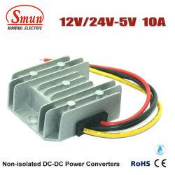 차를 위한 5VDC DC-DC 변환기에 방수 IP68 12V/24VDC
