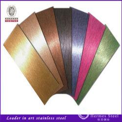 201 304 PVD de couleur pour la construction de décoration en acier inoxydable