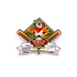 Настраиваемые бейсбола бумага для печати значок кнопки строп предохранительного пояса алюминиевых армии награды