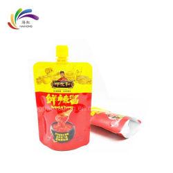 La tuyère d'emballage en plastique Sac pour l'emballage de la Sauce
