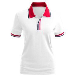 Custom 100% Хлопок рубашки поло для женщин