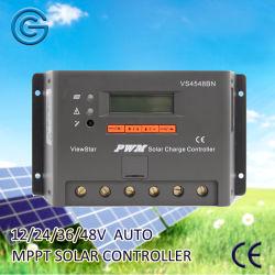 45A солнечных фотоэлектрических контроллера заряда для солнечной системы питания