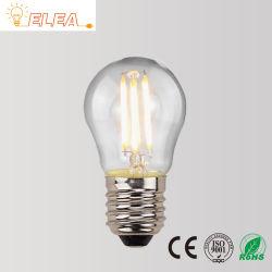 Edison Vintage Bombilla LED ST64 A60 C35 G80 T45 2W 4W 6W LED flexible en espiral 8W Lámpara decorativa de filamentos de la base de rosca E27 2600K luz blanca cálida de las bombillas