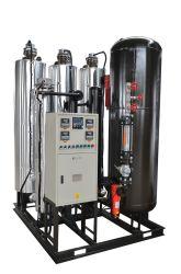 99,9999 % de l'azote décoller du générateur de O2 par le carbone