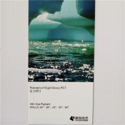 Wasserdichter PP/PVC/Pet Foto-Film des Tintenstrahl-, Backlit Film-Foto-Papier