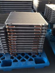 U Pack de aletas Cooper condensadores e Evaporadores Trocadores de Calor