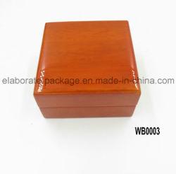 Handmade квадратный случай вахты деревянной коробки вахты славный