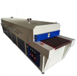 Forno di essiccazione caldo del PWB della galleria di essiccamento del raggio infrarosso con il nastro trasportatore
