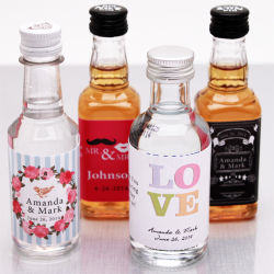 50ml miniature de l'alcool