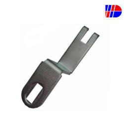 Composant de produit en plastique personnalisés d'équipements industriels partie de la machine