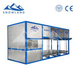 12トン/日水解氷のタイプ直接冷却のブロックの製氷機、情報処理機能をもった自動氷の生産、簡単な操作、速い氷の生産の速度
