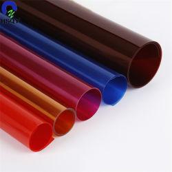 0,15 mm Film PVC dur papeterie reliure de livre le couvercle