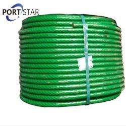 Alambre de amarre de acero galvanizado fuerte cuerda 6X37+FC