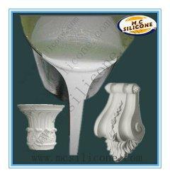 シリコーンゴムを作るプラスター柱頭型