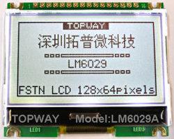 128X64 grafische LCD LCD van het Type van Radertje van de Vertoning Module (LM6029A)