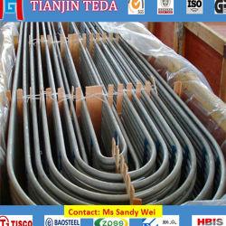 L'acier inoxydable Tp410 sans couture U-A déplié des tubes