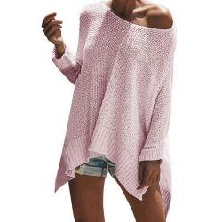 レディセーターガールセーター新しいファッショントリコットスタイルウィメンズアパレル