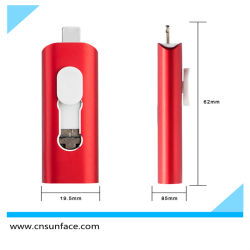 Gitra smartphone OTG Type C USB Flash Drive pen Drive Flash-geheugen van de USB-stick