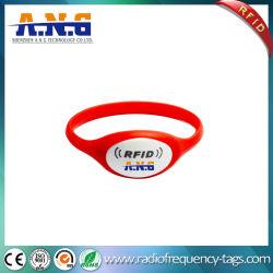 Imperméable léger bracelet en plastique de silicium de numérotation pour le football Ticket