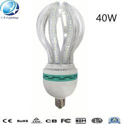 40W E27 LEIDENE van de Vorm van Lotus van het Glas van het Hoogtepunt Duidelijke Melkachtige Energie - de Lamp van de besparing