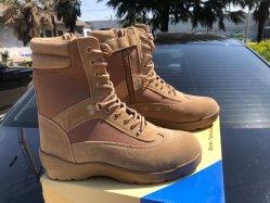 Adulte Bottes concurrentiel des chaussures avec fermeture à glissière latérale