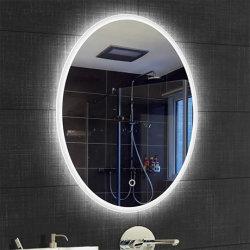 La vanité personnalisé Frameless rétroéclairé LED lumineux miroir lumineux pour salle de bains