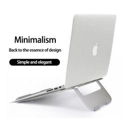 調節可能なラップトップの立場のMacBook、Lenovo、HP、DELLのためのアルミニウム携帯用Foldableラップトップの立場の机のホールダーのノートの立場のタブレットのホールダーのコンピュータアクセサリ