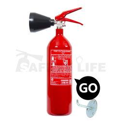 A vida de segurança venda quente 2kg de CO2 do Extintor de Incêndio/carro CO2 Extintor de Incêndio