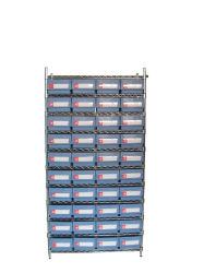 Mensola industriale registrabile del collegare delle 10 file (WSR19-5214)
