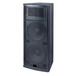 Actif 15 pouces double en bois de karaoké Speakr Sound System