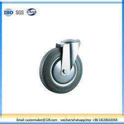 La rotella di gomma grigia della parte girevole ha frenato la macchina per colata continua dell'asse di rotella della riparazione del bullone del cuscinetto a rullo uno