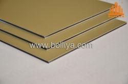 木製木製石スペクトルシルバーミラーブラシナノ PE PVDF コーティング 2mm 6mm 3mm 4mm インテリアエクステリアカーテンウォールファサード クラッドアルミニウム複合材料