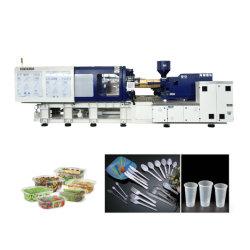 Pressa ad iniezione plastica ad alta velocità Hxh350 produce contenitori per alimenti