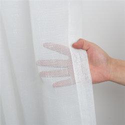 Comercio al por mayor Blanco puro de tela de cortina