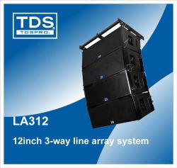 bafle en línea dual de 12 pulgadas Three-Way LA312.