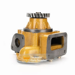 Komatsu PC400-6 PC450-3 D50-18 불도저 엔진 워터 펌프 6D125