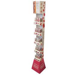 مستحضر تجميل ورق مقوّى برج جميل شاحنة عرض حامل قفص يزوّد صنع وفقا لطلب الزّبون تصميم [3د] [رنتور]
